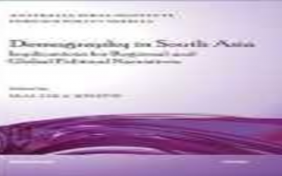 Demography in South Asia: Implications for regional and global political narratives