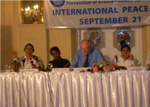 International Peace Day Celebrations in 2007