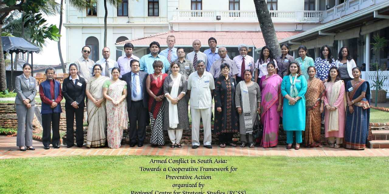 Armed Conflict in South Asia: Towards a Cooperative Framework for Preventive Action
