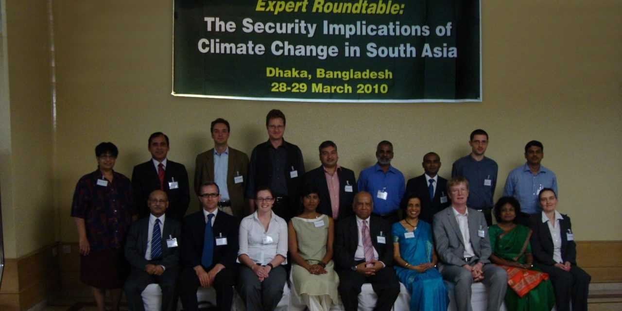 Expert Roundtable on the Security Implications of Climate Change in South Asia