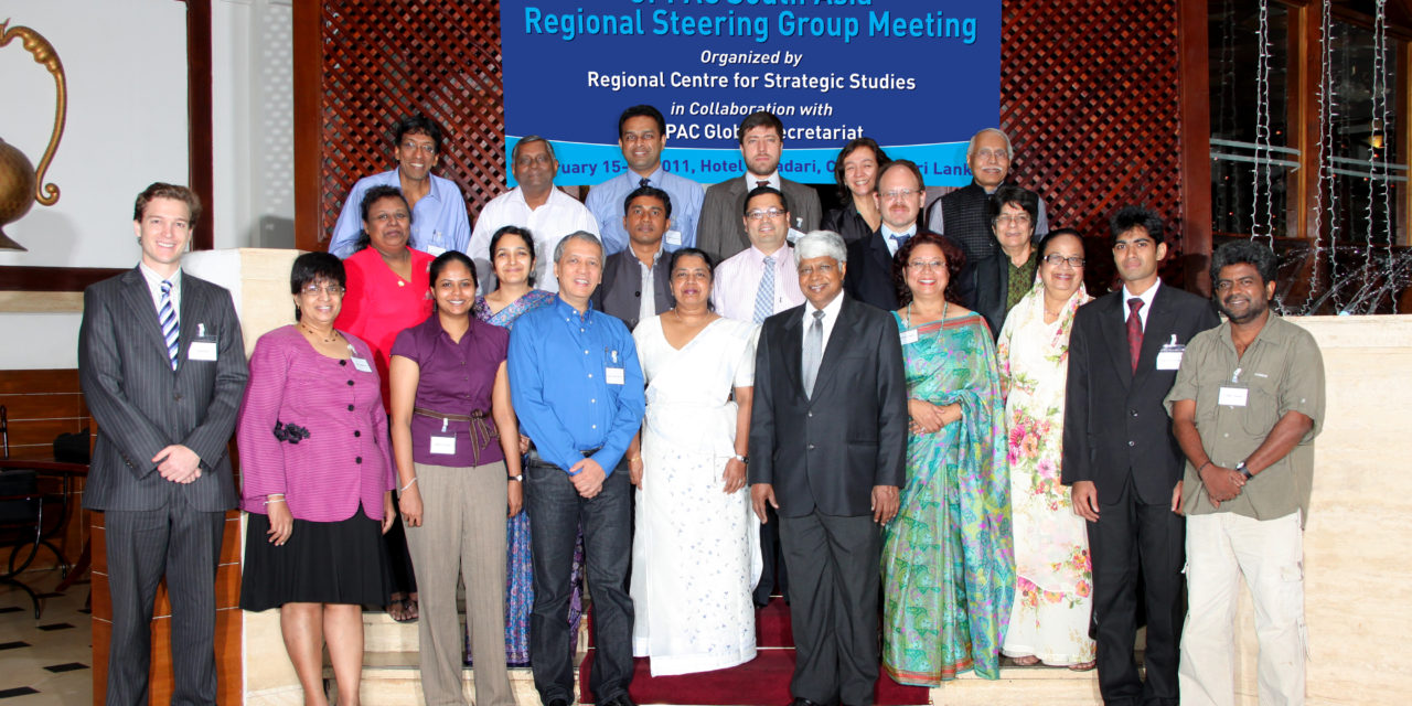 Regional Steering Group (RSG) Meeting of GPPAC