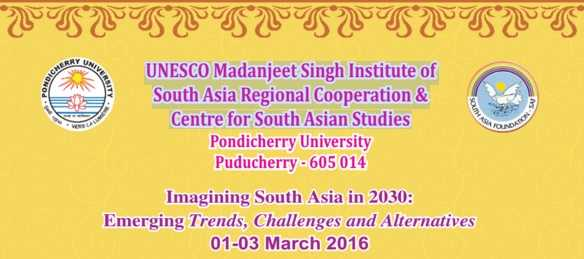 Imagining South Asia in 2030: Emerging Trends, Challenges and Alternatives