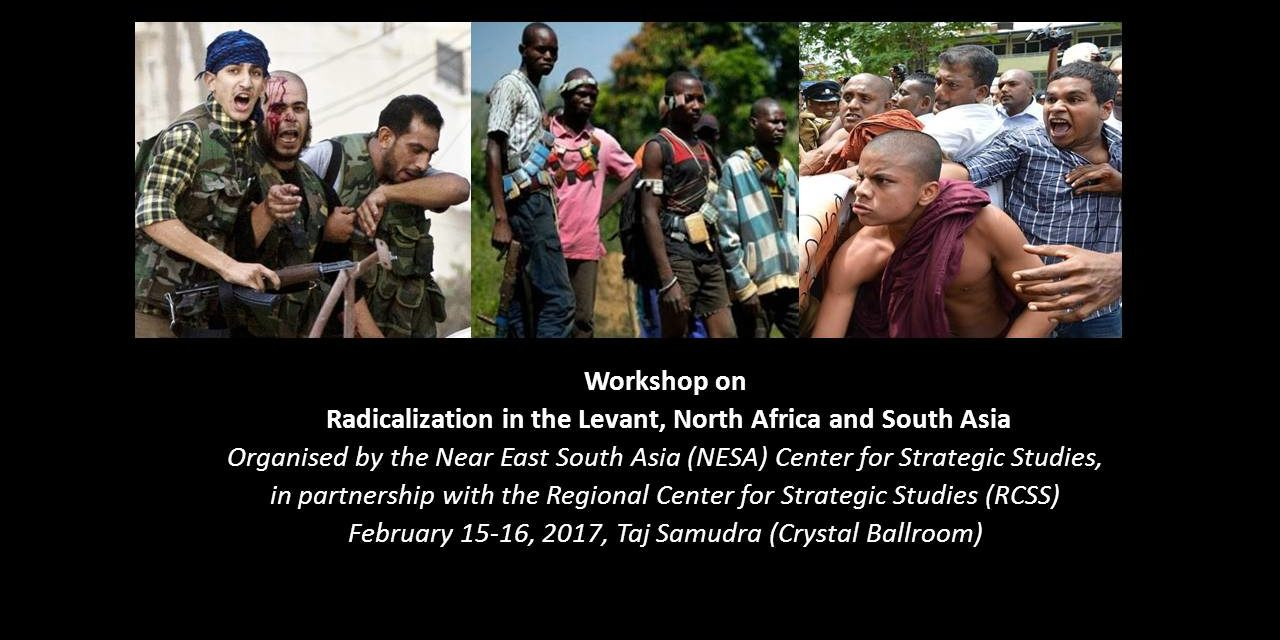 Workshop on Radicalization in the Levant, North Africa and South Asia