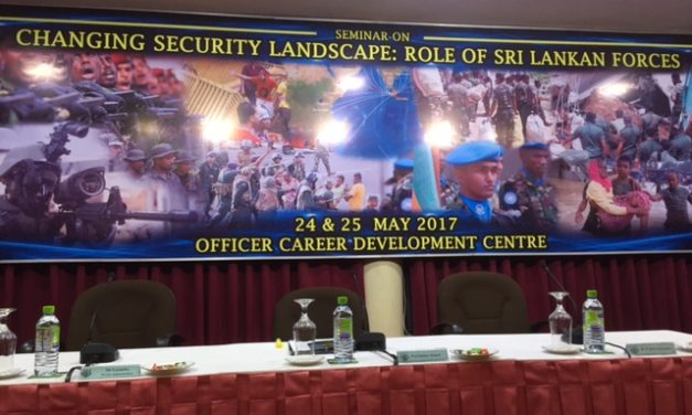 Seminar on Changing Security Landscape: Role of Sri Lankan Forces