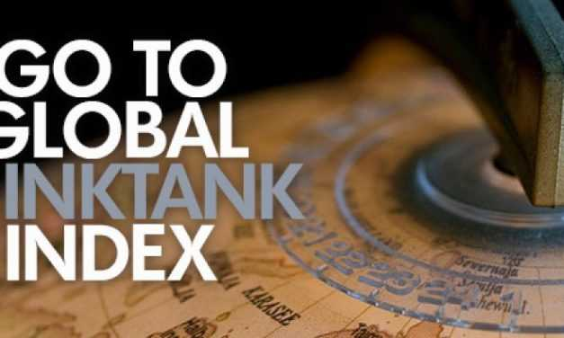 RCSS Listed as Top Think Tank in the '2018 Global Go To Think Tank Index Report'
