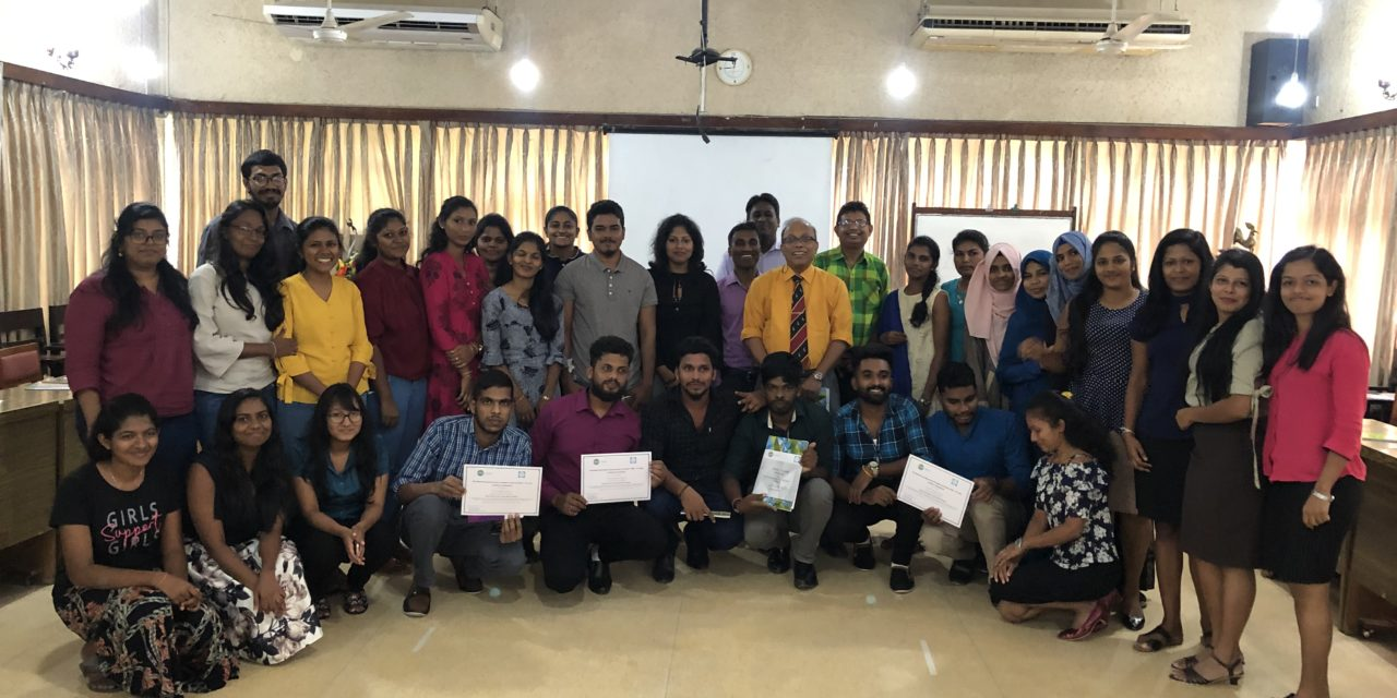 GPPAC – SRI LANKA Workshop: 'Youth for Democracy: Young Leaders' Dialogue'