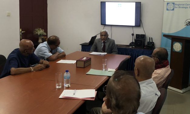RCSS In-House Discussion: Prof. Karori Singh