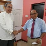 Secretary General of SAARC Designate Visits RCSS