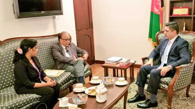 Director of RCSS and Ambassador of Afghanistan Explore Avenues for Collaboration