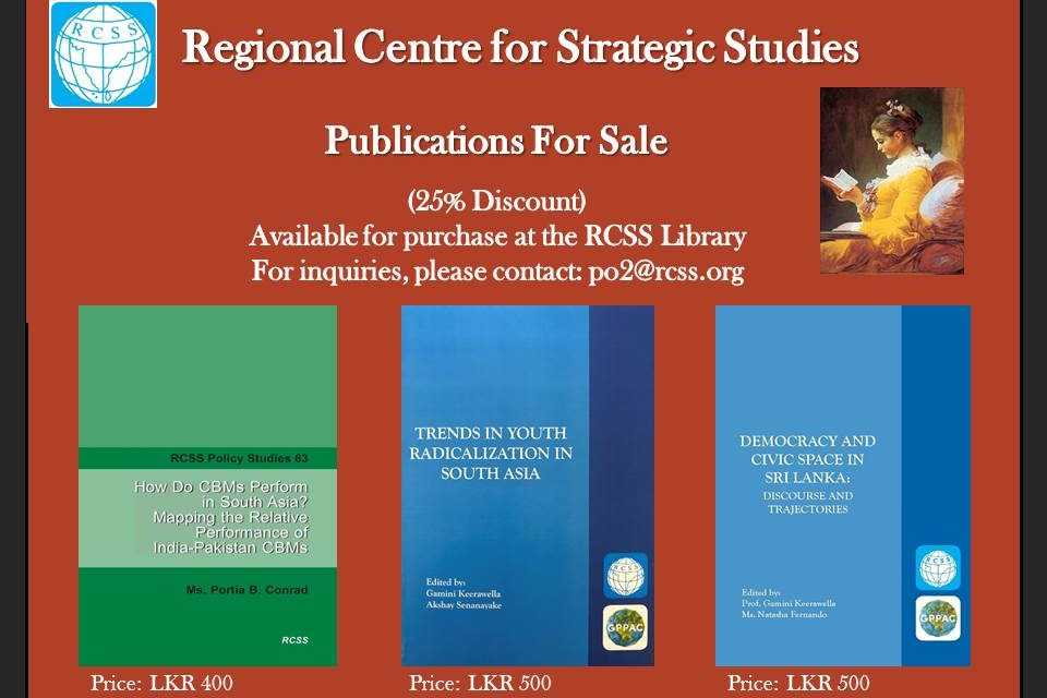 RCSS Publications For Sale