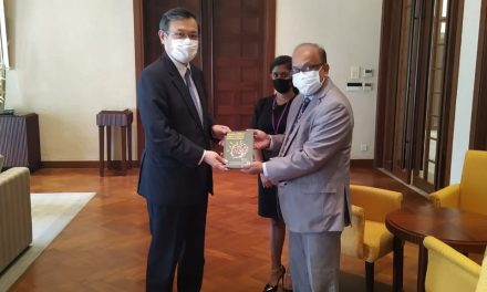 RCSS Executive Director Explores Avenues for Cooperation with the Ambassador of Japan to Sri Lanka