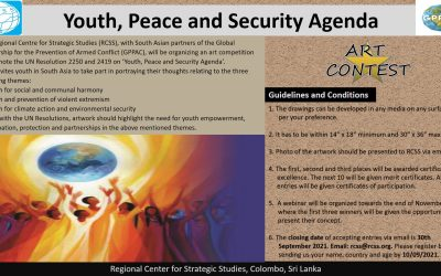Art Contest -'Youth, Peace and Security Agenda'